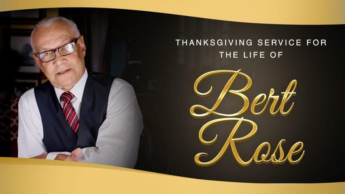 Bert Rose Thanksgiving Service